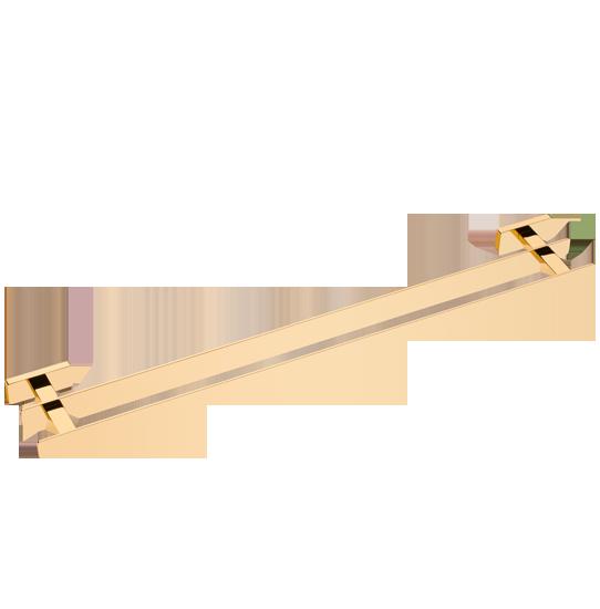 Porta-toalha-duplo-veneza-ouro